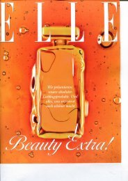 ELLE 10/2012, Beilage Beauty Extra - Skin Concept