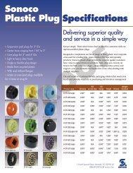 Core plugs and plates brochure - Sonoco