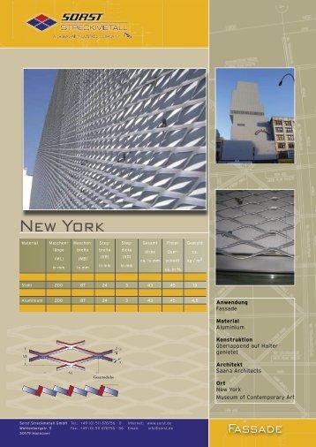 New York - Sorst Streckmetall GmbH