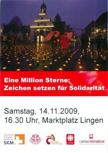 16.30 Uhr, Marktplatz Lingen - SKM Lingen