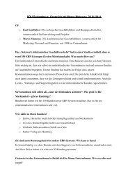 02.2011 Karl Senfleber und Marco Mancuso im Econo-Interview - SOU