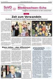 Zeit zum Verwandeln - Sozialverband Deutschland e.V. ...