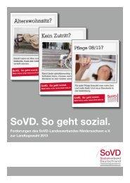 SoVD. So geht sozial. - Sozialverband Deutschland e.V. ...
