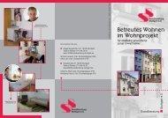 Betreutes Wohnen im Wohnprojekt - Sozialberatung Stuttgart eV