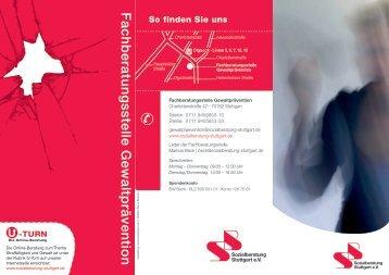 Fachberatungsstelle Gewaltprävention - Sozialberatung Stuttgart eV