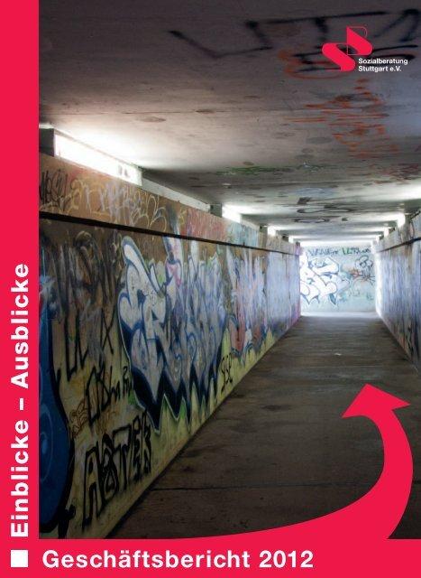 Geschäftsbericht 2012 - Sozialberatung Stuttgart eV