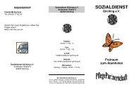 Flyer - Sozialdienst Gilching eV