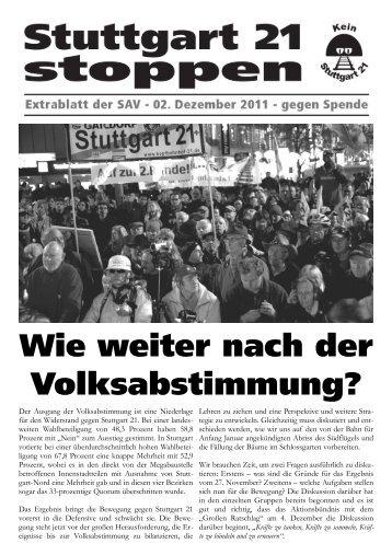 Wie weiter nach der Volksabstimmung? - sozialismus.info