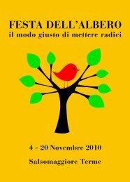 Festa dell'Albero - Istituto Comprensivo di Salsomaggiore Terme