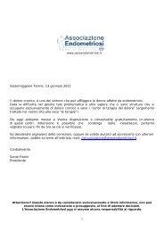 Salsomaggiore Terme, 13 gennaio 2011 Il dolore cronico è uno dei ...