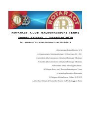 Rotaract Club Salsomaggiore Terme - Distretto Rotaract 2070