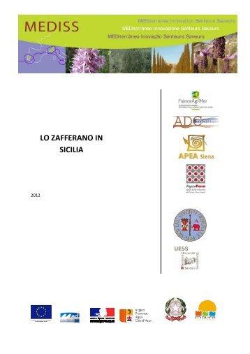 LO O ZAFF SIC ERANO CILIA O IN - Programme Med