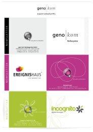 März 2012 - geno kom Werbeagentur GmbH