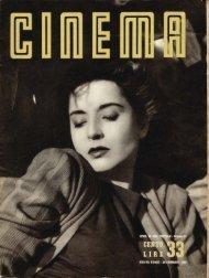 Cinema 1950 numero 33 - Holmes