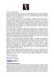 Lettera aperta agli italiani. Mi chiamo Rodolfo Marusi ... - Wgov.org