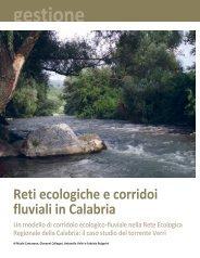 il caso studio del - Parco Marino Regionale