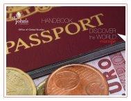 DISCOVER the WORLD: europe HANDBOOK - St. John's University