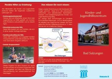 Flyer Kinder und Jugendhilfezentrum Bad Salzungen - Sozialwerk ...