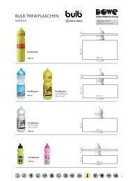 Anfrageformular bulb Trinkflaschen - DOWE GMBH