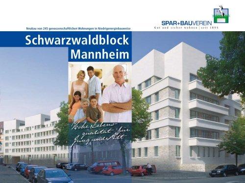 Schwarzwaldblock Mannheim - Baugenossenschaft SPAR und