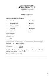 Wohnungsgesuch Nichtmitglieder (71.5 KB) - Baugenossenschaft ...