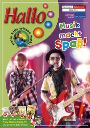 Musik macht - Sparkassen-SchulService