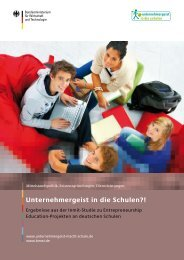 umfangreichen Evaluation (pdf - Sparkassen-SchulService