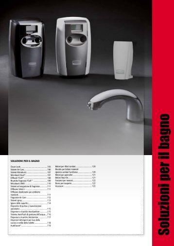 Catalogo prodotti l 39 espe rubbermaid commercial products - Soluzioni per il bagno ...