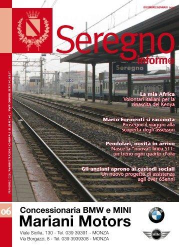 Mariani Motors - Comune di Seregno
