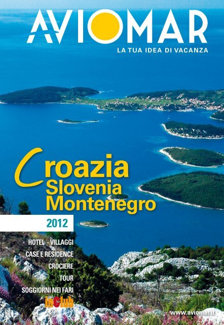 Slovenia Montenegro - Aviomar