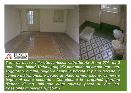 6 km da Lucca zona ovest Villa Ottocentesca ristrutturata e ... - FUSCA