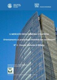 Comune di Milano - Borsa Immobiliare
