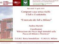 Il mercato dei loft a Milano - Borsa Immobiliare
