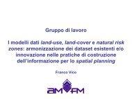 Franco Vico - AMFM GIS Italia