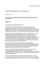 Fortschritt und Gerechtigkeit: Wirtschaftlicher Erfolg - SPD