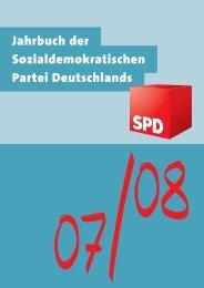 Das Jahrbuch der Sozialdemokratischen Partei 2007 und 2008 - SPD