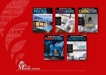 Presentazione della rivista 100idee per ristrutturare for Riviste per la casa