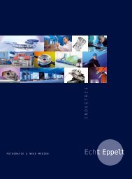 Our portfolio Photography for the industrie - Echt Eppelt