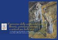 Il percorso della carta e dei colori - Comune di Firenze