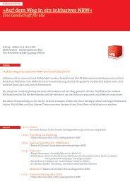 Fraktion vor Ort 2013 Inklusion - Münchow, Volker (MdL)