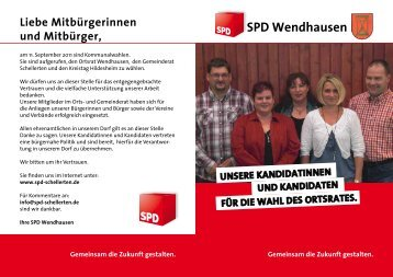 sPd Wendhausen - SPD Schellerten