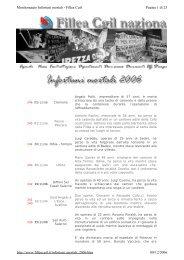 Pagina 1 di 23 Monitoraggio Infortuni mortali - Fillea Cgil 08/12/2006 ...