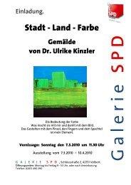 Ausstellung vom 7.3.2010 - SPD Velbert