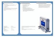 Conteúdo da Embalagem Requisitos do Sistema Descrição ... - SMC