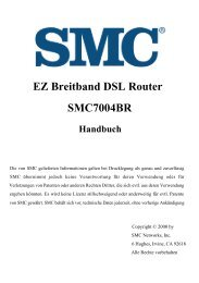 EZ Breitband DSL Router SMC7004BR Handbuch