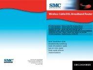 Wireless Cable/DSL Broadband Router - SMC