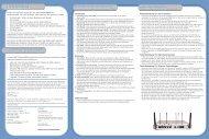 Lieferumfang Systemanforderungen Hardwarebeschreibung ... - SMC