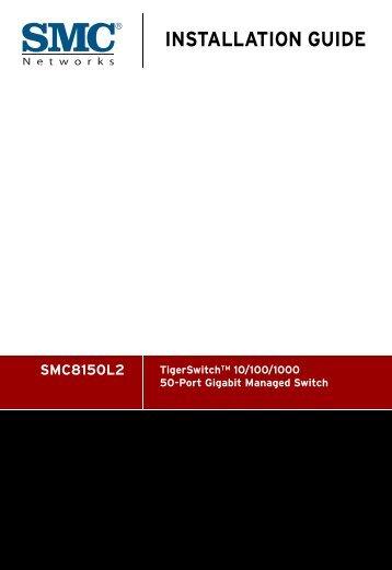 Installation Guide PDF - SMC