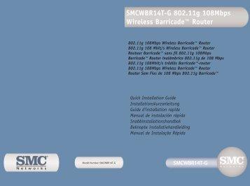 SMCWBR14T-G SMCWBR14T-G 802.11g 108Mbps Wireless ...