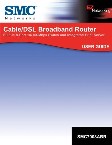 Cable/DSL Broadband Router - SMC